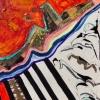 kathleen turnbull-uphill-20x20-mixed media